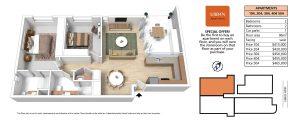 3D URB4N FLOOR PLAN APARTMENT-4